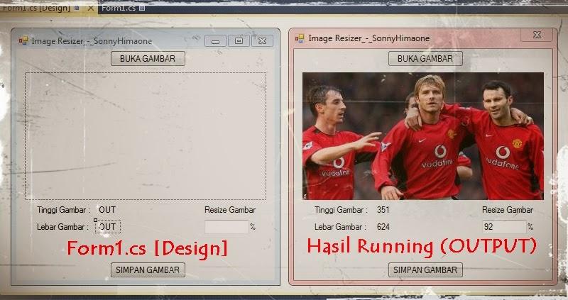Coding Program Aplikasi Image Resizer Microsoft Visual Studio 2010 Ultimate