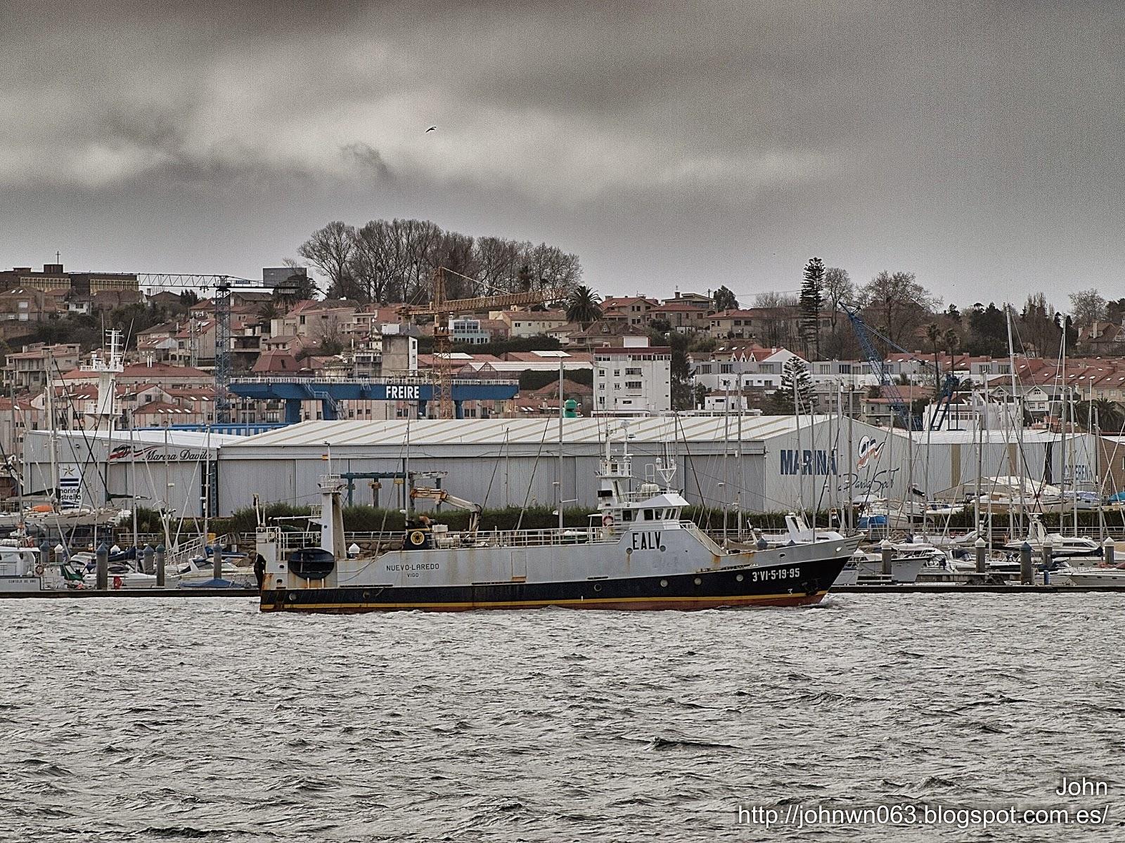 fotos de barcos, imagenes de barcos, nuevo laredo, astilleros armada, pesquero, vigo