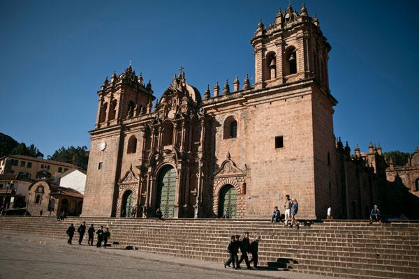 Fachada de la Catedral Del Cusco la Catedral Del Cusco o