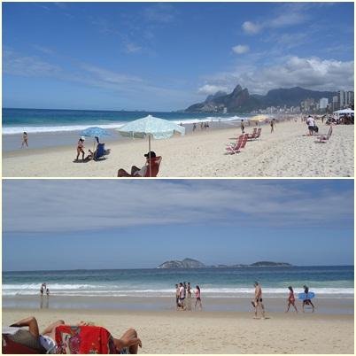 Rio de Janeiro, Ipanema, praia, Arpoador