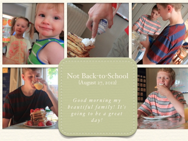 First Day of School {2012}