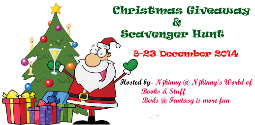Christmas Giveaway & Scavenger Hunt