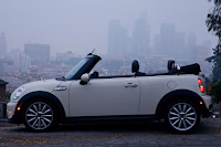 2015 New Mini Convertible More Power white side view