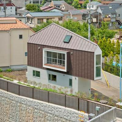 Casa de sonho do japonês Kota Mizuishi