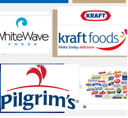 Major Diversified Food Stocks