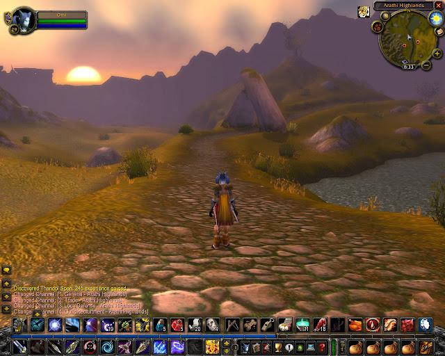 World of Warcraft - Arathi Highlands Susnet Description