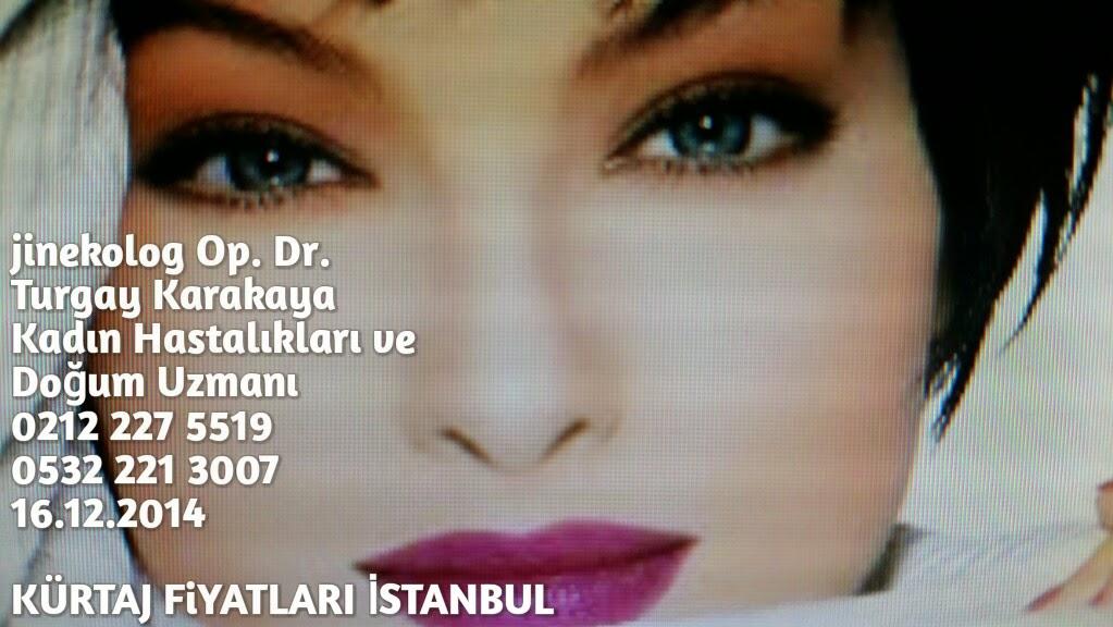 Kürtaj fiyatları İstanbul