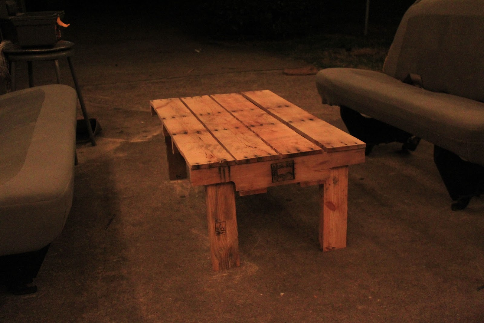 The Rouge Blog Jack made stuff out of pallets