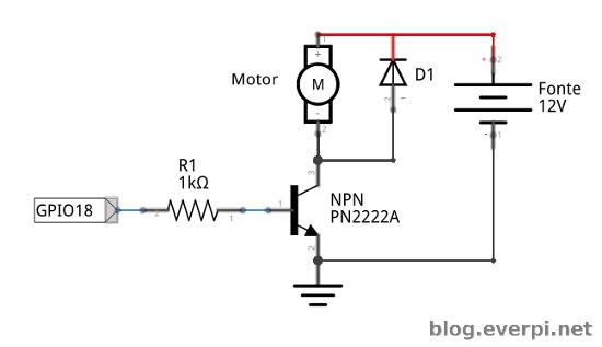 como conectar um cooler  ou outro motor  e controlar sua