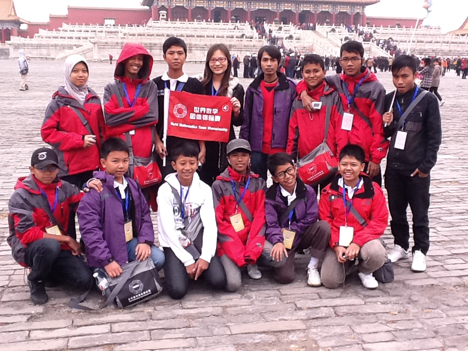 SISWA - SISWI ERICK INSTITUTE INDONESIA DI FORBIDDEN CITY BEIJING