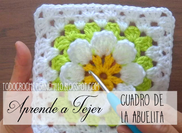 tutorial en video de granny crochet