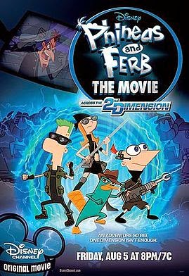 Phineas & Ferb: Across the 2nd Dimension