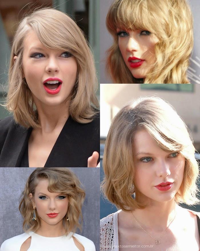 cabelo, taylor swift, corte, loiro claro,