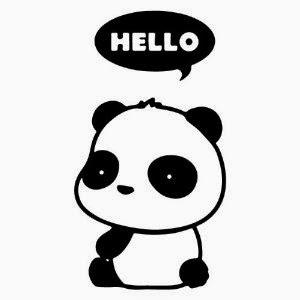 gambar animasi panda - gambar panda