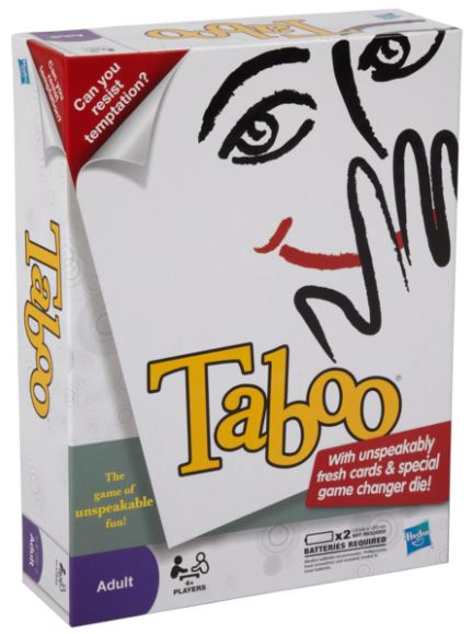 A lot of games are for kids, and not adults. Taboo, however, is for adults ...