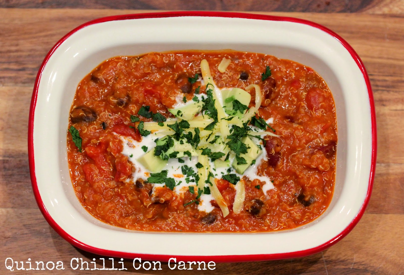 Quinoa, Chilli Con Carne, healthy, recipe, recipes, thermomix, healthy meals, vegetarian, meatless, protein, nutrition, health