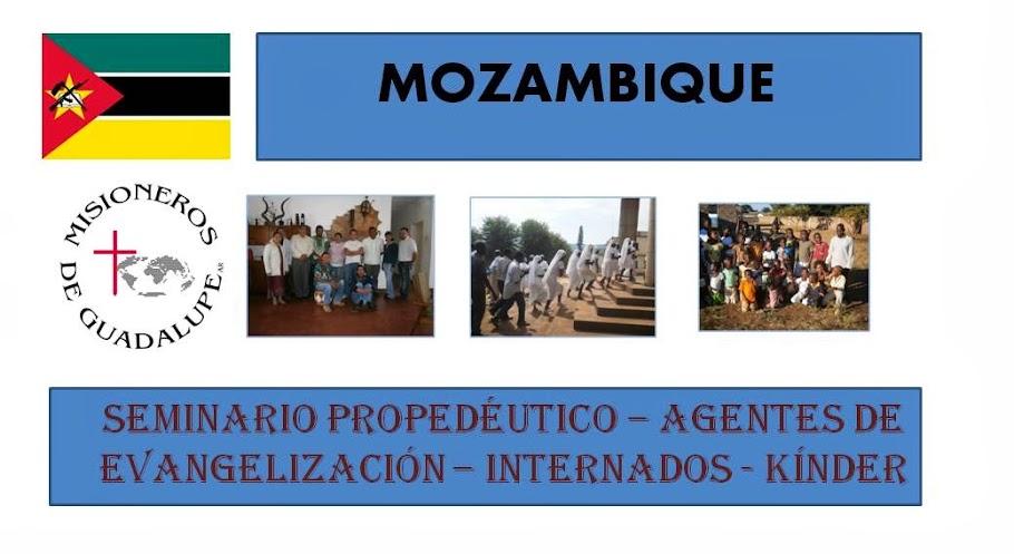 MG Evangelizando en Mozambique