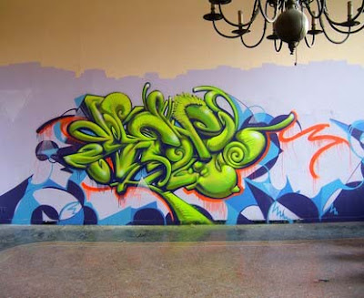 Full graffiti art
