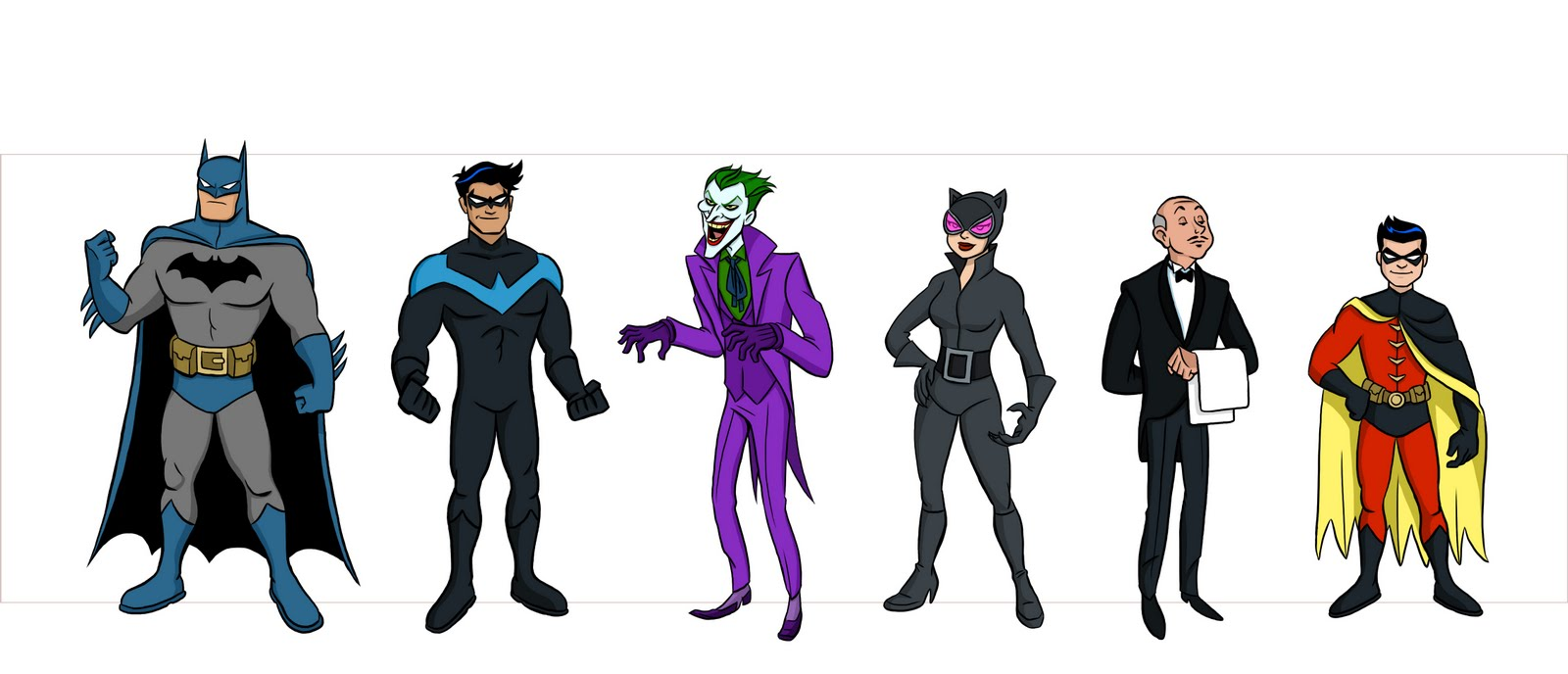 Batman Characters | ScOOt Sketches!