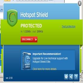 تحميل هوت سبوت شيلد Hotspot Shield 2.78 عربي المجاني لفتح المواقع المحجوبة - أخر إصدار