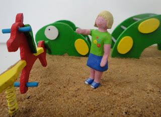 Maqueta personalizada parque infantil