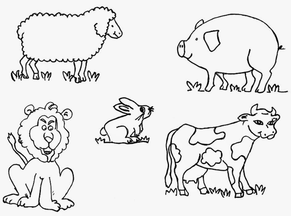 CuentosDeDonCoco.Com: LOS ANIMALES PARA COLOREAR