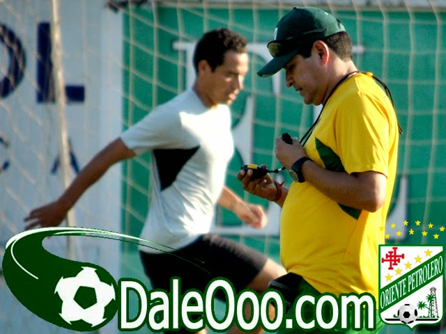 Oriente Petrolero - Gualberto Mojica - Eduardo Villegas - DaleOoo.com web del Club Oriente Petrolero