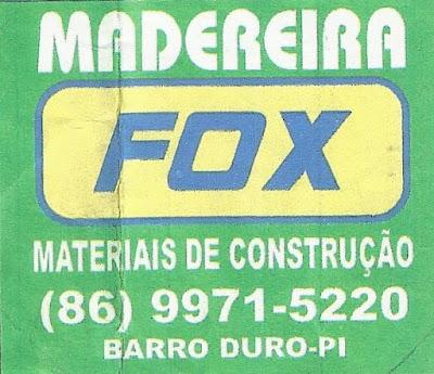 Madeireira FOX em Barro Duro