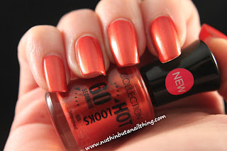 collection cosmetics scorched nail polish swatch