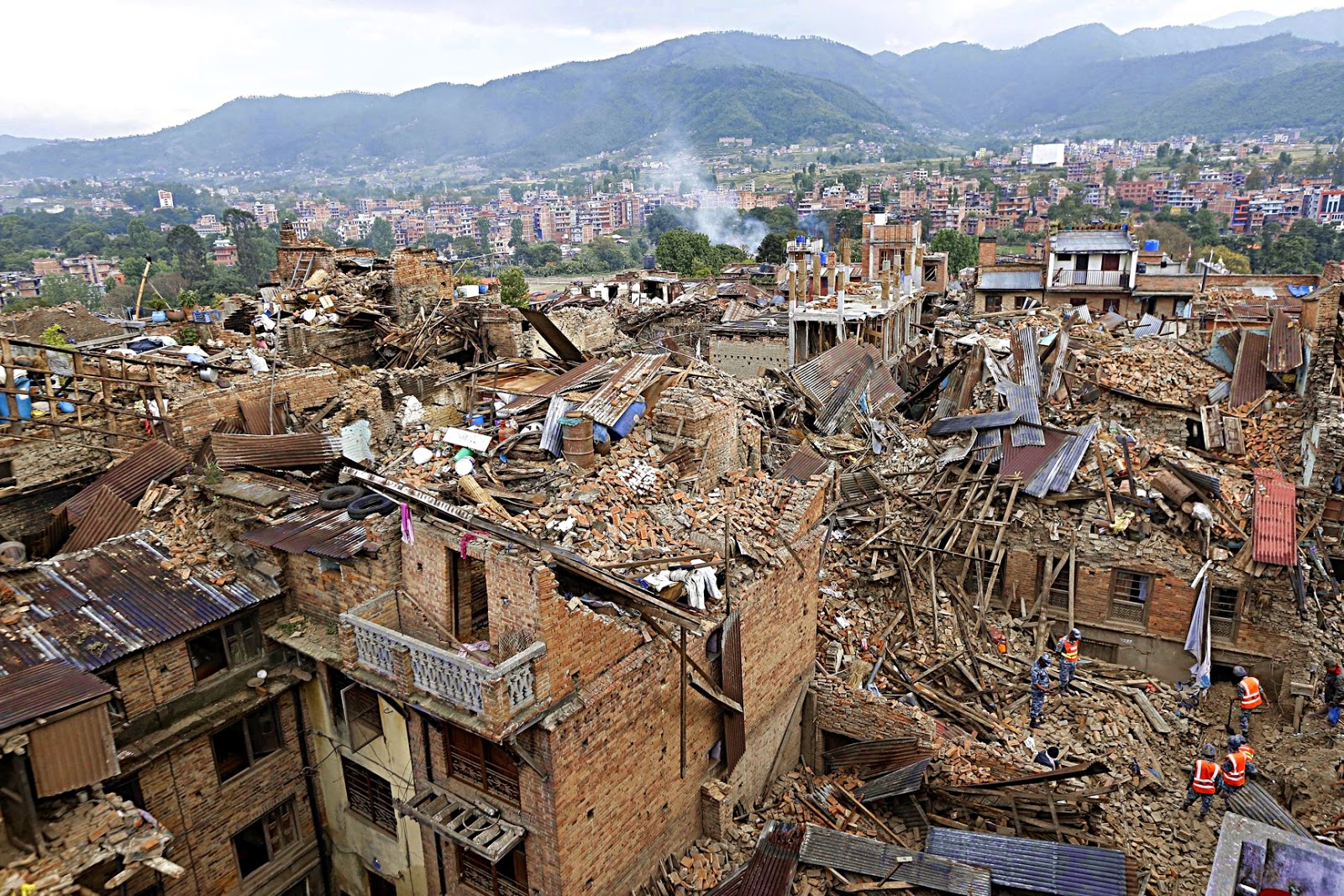 Rebuilding in Nepal