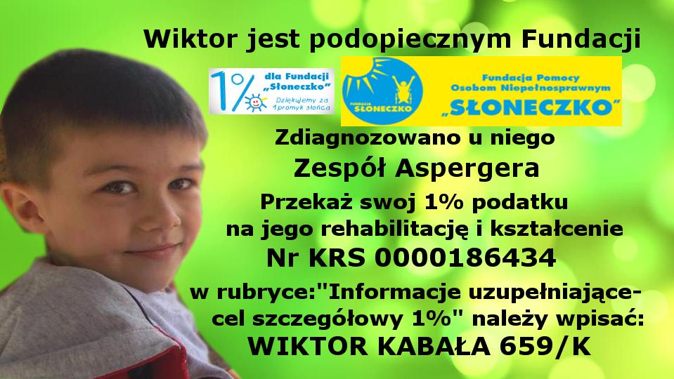 Fundacja Słoneczko - Pomóż Wiktorowi