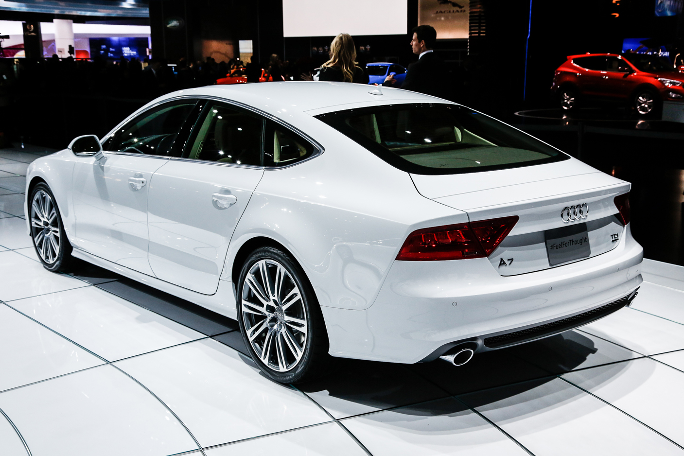 Audi A4 White 2014 I was hesitant in buying my