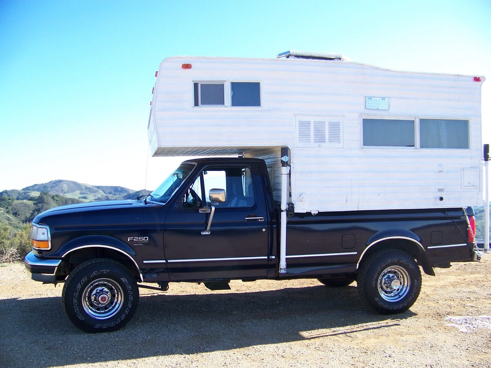 Re Cycled In The Usa Truck Camper For Sale Fuel Filter On 2012 F250