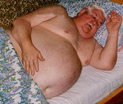 Hombres gordos gordos mayores