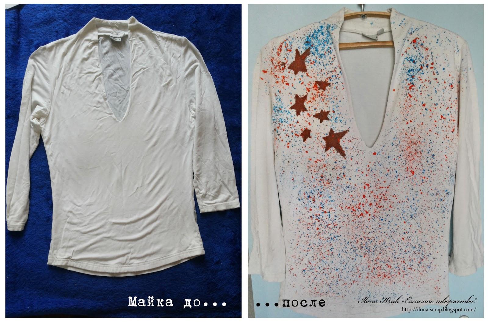 Как восковыми мелками сделать рисунок на футболке