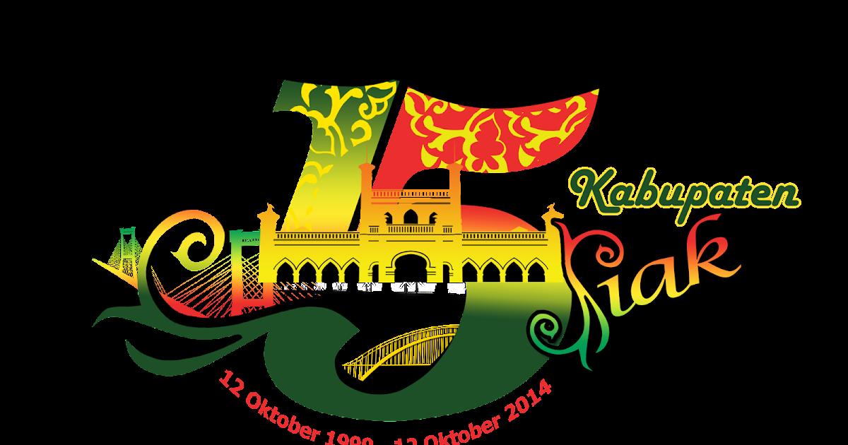 Boedak Buatan Bb Logo Hut Kabupaten Siak Ke 15