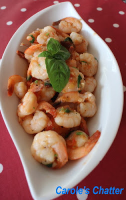 Garlic Prawns Indian Style by Carole's Chatter