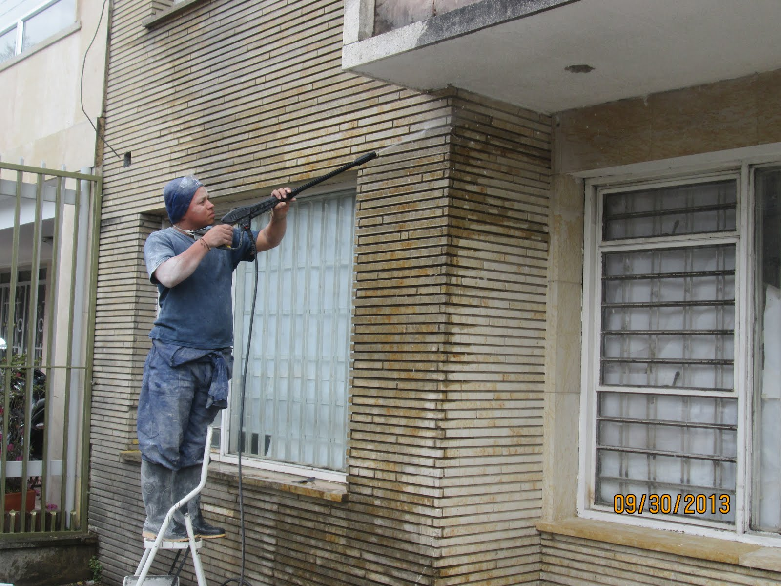 Lavado de fachadas