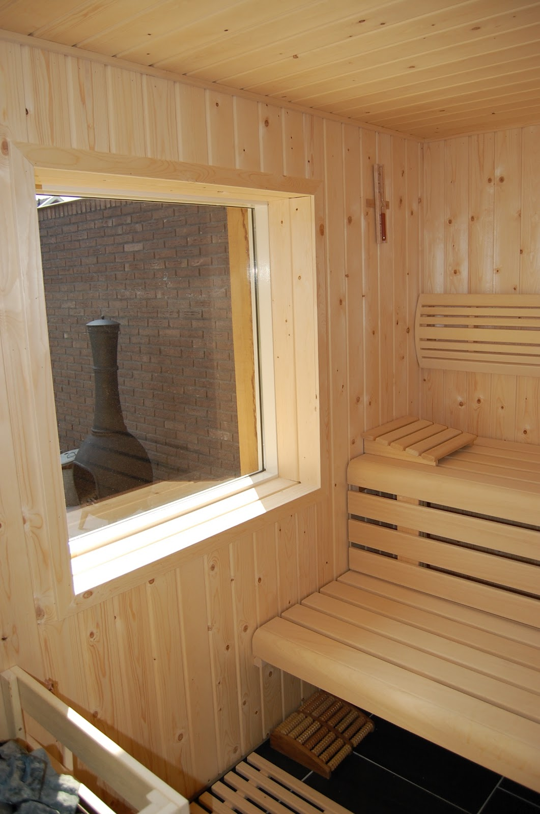 Badkamer, Spa- Wellnessdesign: Sauna Design