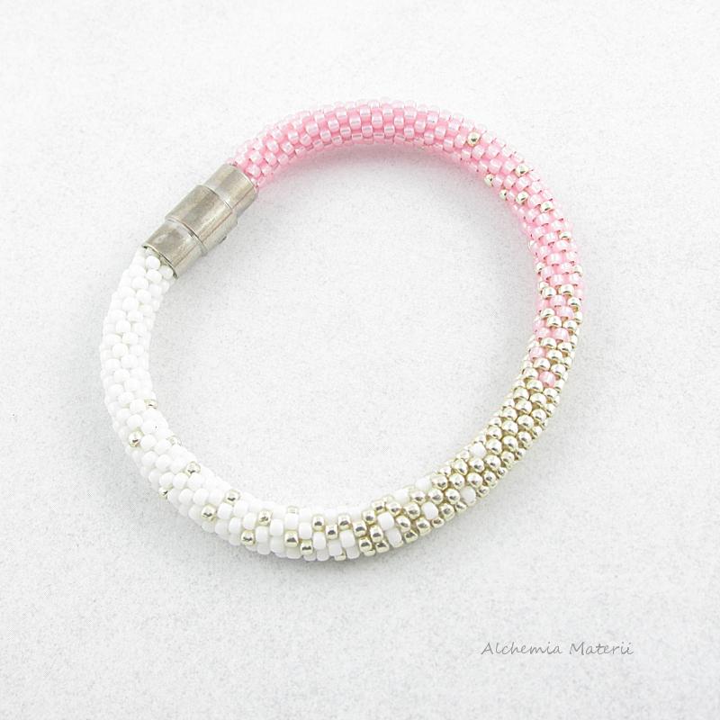Kitty bracelet.