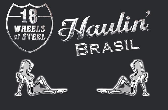 Esses Duas Estou Jogando Wheels Of Steel Haulin Brasil Tambem