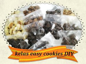 Kelas DIY Easy Cookies - RM350 [ 8 resepi + 2 bonus resepi)