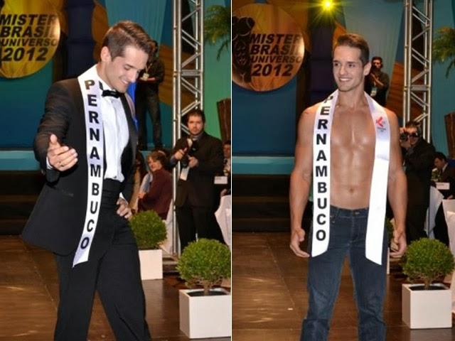 Erik Armiliato foi Mister Pernambuco Universo 2012 Foto: Divulgação
