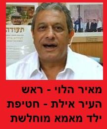 מאיר הלוי - ראש העיר אילת - חטיפת ילד מאמא מוחלשת
