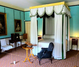 Queen Charlotte's bedroom, Kew Palace
