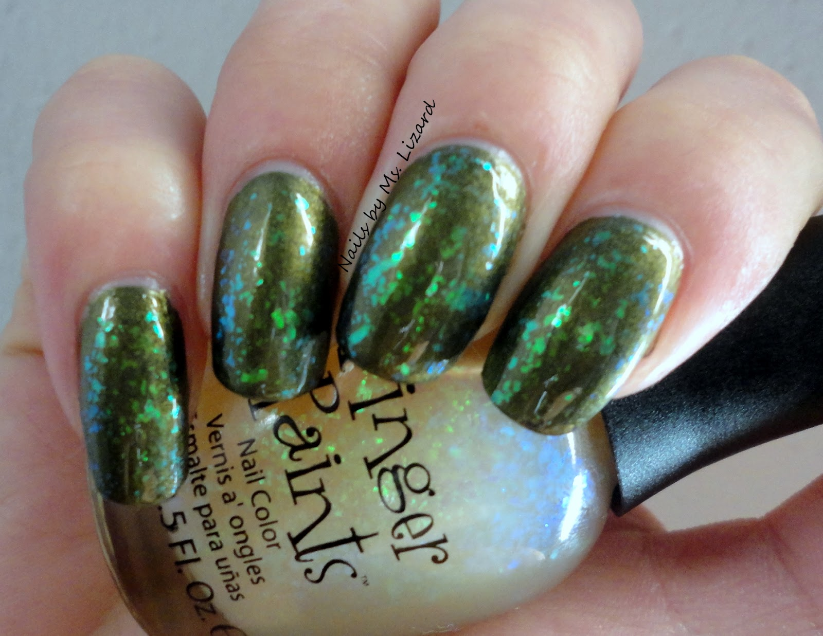 Nails by Ms. Lizard: My St. Patrick\'s Day SNAFU