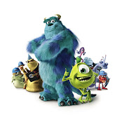 . maybe because I remembered about some characters in MONSTER INC movie.