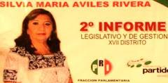 DiputadaPRIPANAL Silvia Aviles dá Segundo Informe Legislativo en Cinema de Calkiní. 14dic