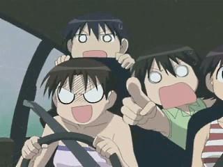 anime, drive, crazy
