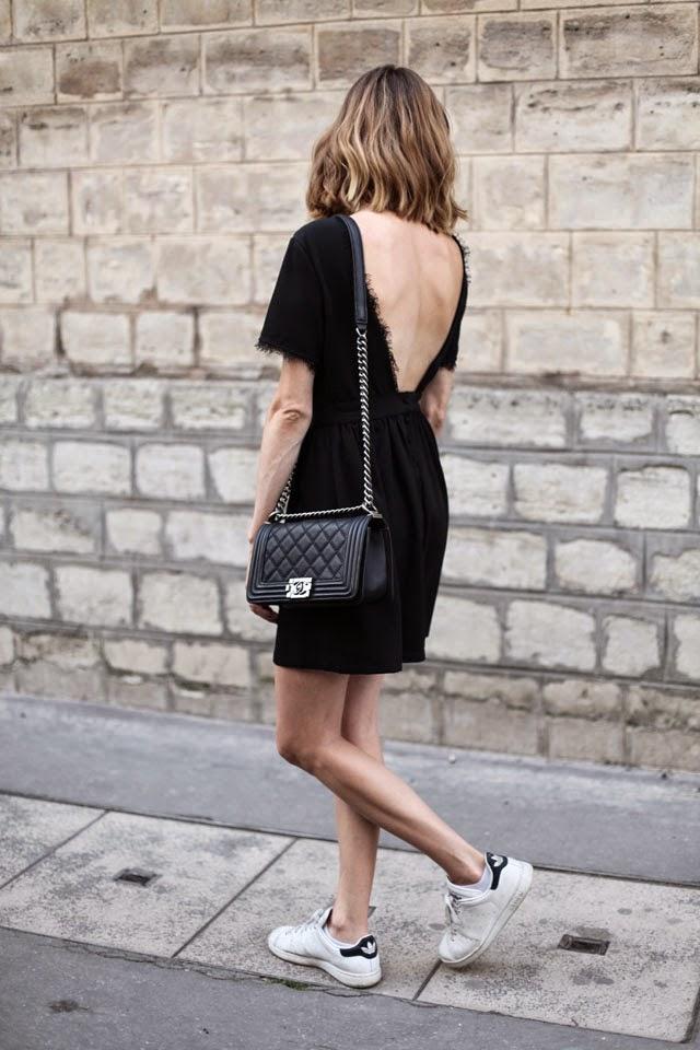 adidas petite robe noire